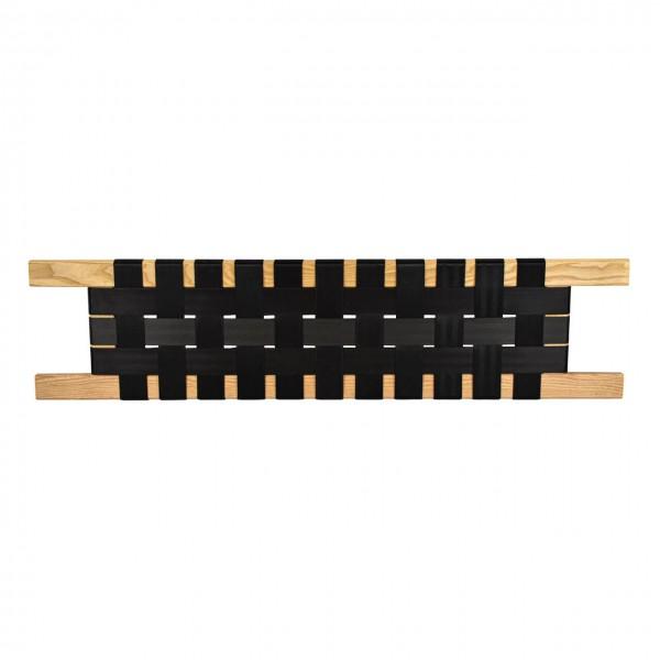 Gurtbandsitz, Esche, 80 x 24 cm Sitzfläche